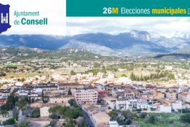 Lista de candidatos del PP al Ajuntament de Consell