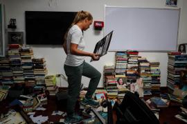 Saqueo en la vivienda familiar de Leopoldo López