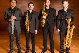 El Quartet de Saxòfons da un concierto en el Casal Pere Capellà con motivo del Mes de Música 2019