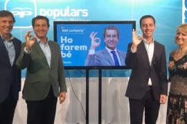 Company pide disculpas por «los errores» y asegura que el PP será el más votado el 26M en Baleares