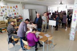 La mitad de los votantes del PI y Més no fueron a votar en las elecciones generales