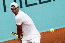 Rafael Nadal ya prepara el Masters 1000 de Madrid