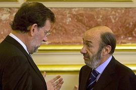 Rajoy y Rubalcaba se reunirán el miércoles por primera vez en La Moncloa