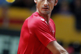 Ferrero suma el primer punto para España  tras vencer en cinco sets a Kukushkin