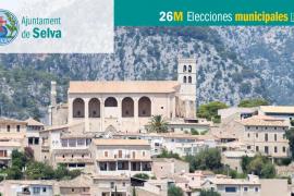 Lista de candidatos del PP al Ajuntament de Selva