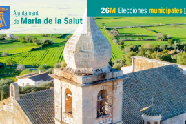 Lista de candidatos del PP al Ajuntament de Maria de la Salut
