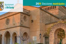 Lista de candidatos al Ajuntament d'Ariany