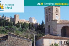 Lista de candidatos del PP al Ajuntament d'Artà