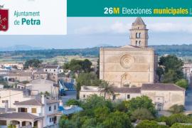 Lista de candidatos del PP al Ajuntament de Petra