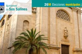 Lista de candidatos al Ajuntament de Ses Salines