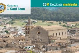 Lista de candidatos al Ajuntament de Sant Joan