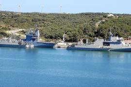 Cerca de 900 efectivos de 16 buques y un submarino descansarán en Palma