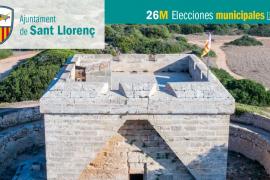 Lista de candidatos de Més per Sant Llorenç al Ajuntament de Sant Llorenç