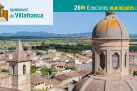 Lista de candidatos de Ara Candidatura Unitària de Vilafranca-APIB al Ajuntament de Vilafranca