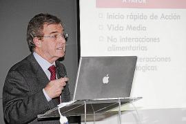 Pascual Marco explica en Palma el avance en el tratamiento de las trombosis con nuevos fármacos