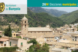 Lista de candidatos de Esquerra Oberta Bunyola al Ajuntament de Bunyola
