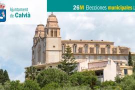 Lista de candidatos de Esquerra Unida de les Illes Balears al Ajuntament de Calvià
