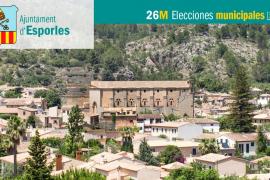 Lista de candidatos de Més per Mallorca-APIB al Ajuntament d'Esporles