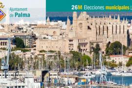Lista de candidatos de Més per Palma al Ajuntament de Palma