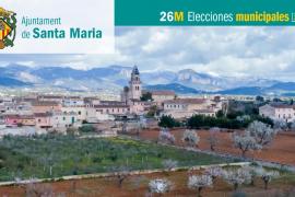Lista de candidatos de Més per Mallorca-APIB al Ajuntament de Santa Maria del Camí