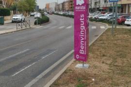 El Ayuntamiento de Marratxí señala la delimitación del término con tótems informativos
