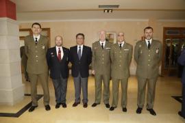 La Delegación de Defensa en Baleares entrega premios y diplomas en el acto institucional de su 25 aniversario
