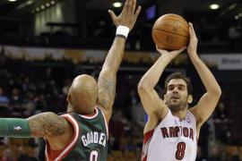 Calderón e Ibaka destacan en sus partidos de la NBA