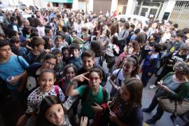 La visita de los actores de 'Campeones' a Sant Antoni, en imágenes (Fotos: Daniel Espinosa).