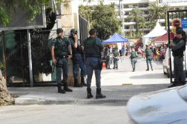 Sorpresa ante la extrema seguridad para un torneo mundial de fútbol policial en Santa Ponça