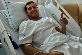Iker Casillas se declara «con el corazón contento»
