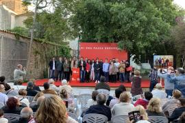 Francina Armengol presenta a la candidata del PSIB-PSOE al Ajuntament de Binissalem, Pepa Ramis