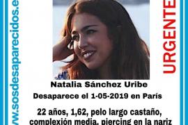 Desaparece en París una estudiante de 22 años de Palmanova
