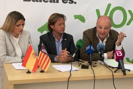 Nuria Díez, Jorge Campos y Juan Nigorra, candidatos de Vox