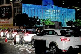 El Hyundai NEXO iluminó la Biblioteca Metropolitana de Seúl