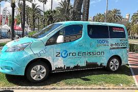 Nissan Nigorra ha expuesto su furgoneta e- NV 200