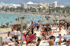 El impacto económico que genera la Playa de Palma equivale a la mitad del PIB de Menorca
