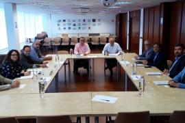 Los candidatos de Vox se reúnen con representantes de la Federación Hotelera de Mallorca