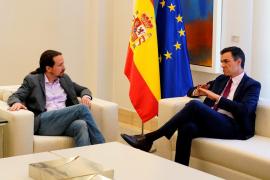 Sánchez e Iglesias buscarán una Mesa del Congreso con mayoría progresista