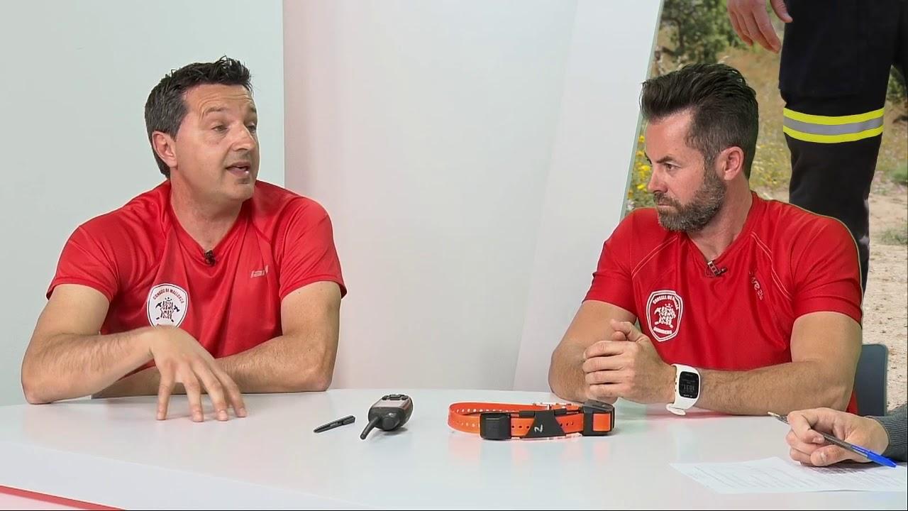 Los héroes de cuatro patas de Bombers de Mallorca