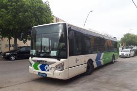 Llega a Palma el primer autobús para renovar la flota de la EMT