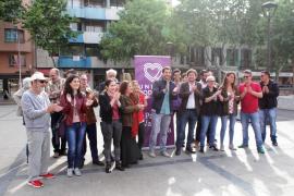 Jarabo presenta la candidatura de Unidas Podemos a Cort