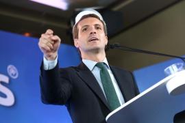 Casado advierte contra partidos «no genuinamente europeistas» como Ciudadanos y Vox