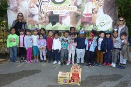Alumnes d' Infantil del CEIP Jafuda Cresques de Palma varen visitar Natura Parc