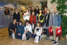 Alumnes de l' IES Es Puig de Sa Font de Son Servera varen visitar Grup Serra i Agromallorca