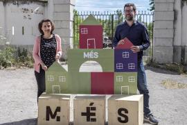 Fina Santiago y Antoni Noguera, candidatos de Més