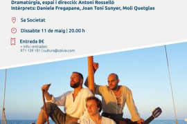 La compañía de teatro Petita Pàtria presenta 'Al·lot de barca' en Sa Societat