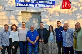 El polideportivo de Sencelles llevará el nombre de la atleta local Sebastiana Llabrés Ramis