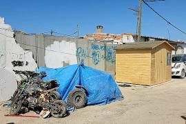 Cort contrata a una empresa para derribar nuevas construcciones en Son Banya