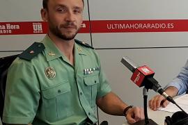 Conmoción en la Guardia Civil por la muerte del comandante José Domingo