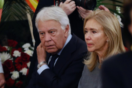 Las lágrimas de Felipe González en la despedida a Rubalcaba